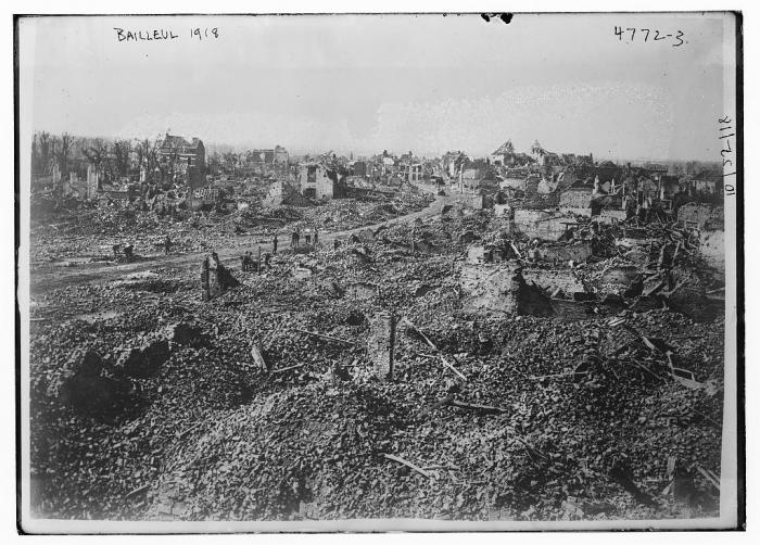6.9a Bailleul  1918