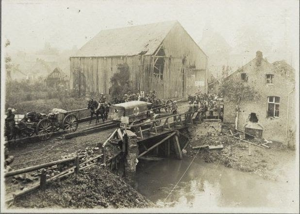 A1 Bridge over the river Selle, World War 1, Battle of the Selle