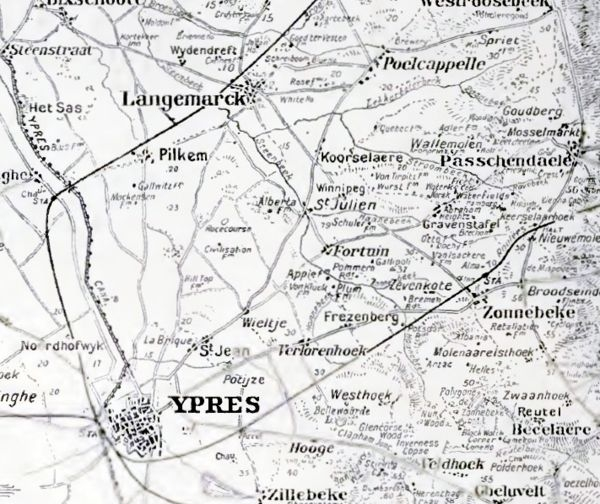 A1 Reutel map