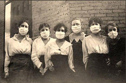 F1 Spanish-Flu-Masks