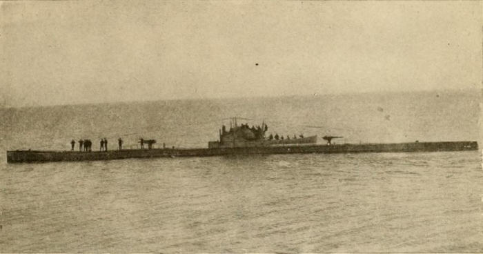 I1 U_65_submarine_WW1