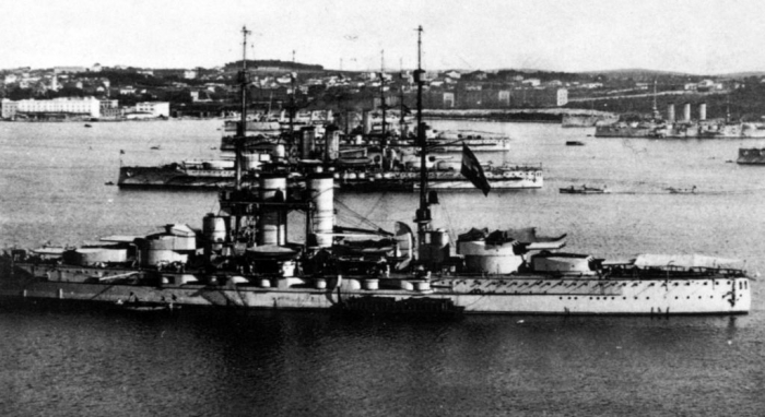 B1 Austro-Hungarian_Dreadnoughts_At_Pula