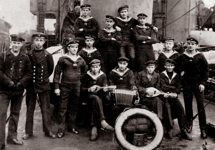 C1  Kiel Mutiny 1918