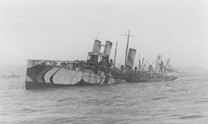 E1 Campania_sinking