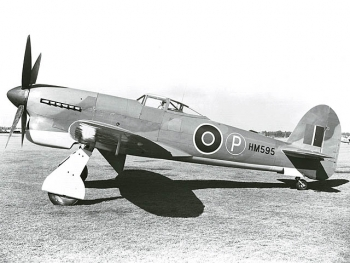 Hawker Tempest - prototyp