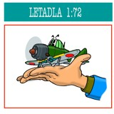 Letadla - 1:72